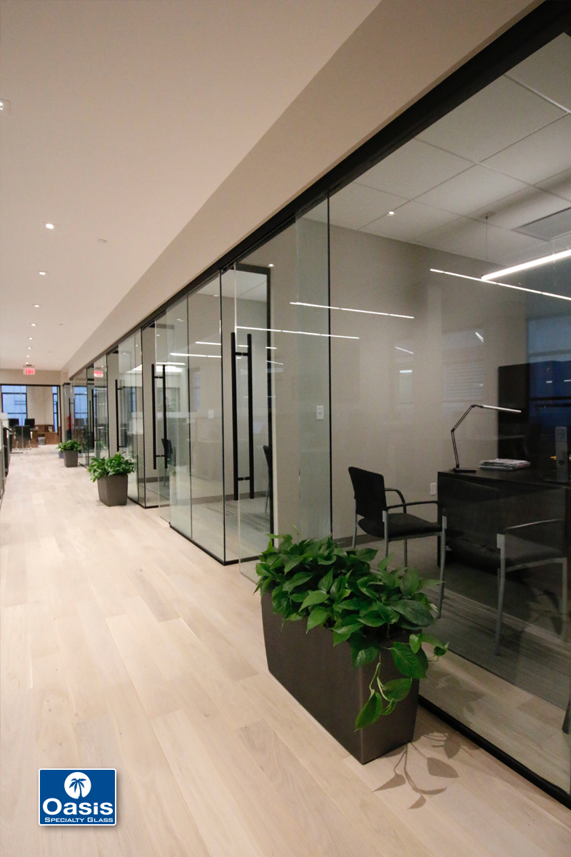 Fixed Or Sliding Glass Panels Oasis Specialty Glass Ma