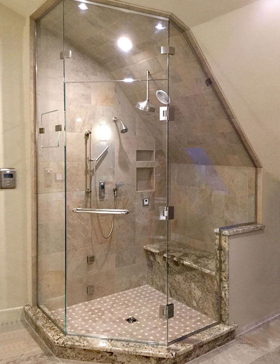 Frameless Shower Enclosers