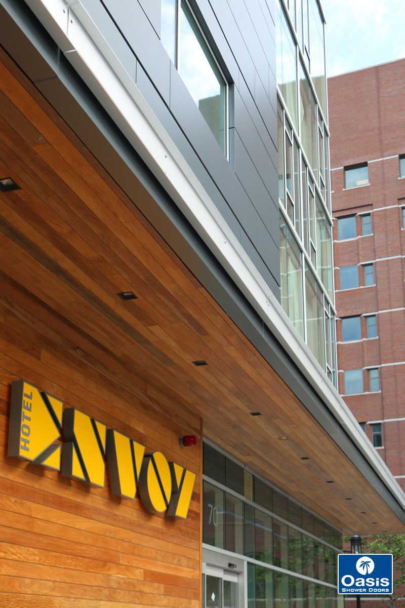 Oasis Specialty Glass Wins Prism Award Envoy Hotel